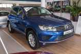 Volkswagen Touareg. СИНИЙ NIGHT BLUE МЕТАЛЛИК (Z2Z2)