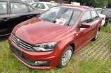 Volkswagen Polo. КРАСНЫЙ «WILD CHERRY» МЕТАЛЛИК (2K2K)