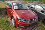 Volkswagen Polo. КРАСНЫЙ RUBY, МЕТАЛЛИК (7H7H)