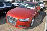 Audi A4. КРАСНЫЙ, МЕТАЛЛИК (VOLCANO RED) (1G1G)