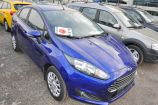 Ford Fiesta. СИНИЙ (DEEP IMPACT BLUE)