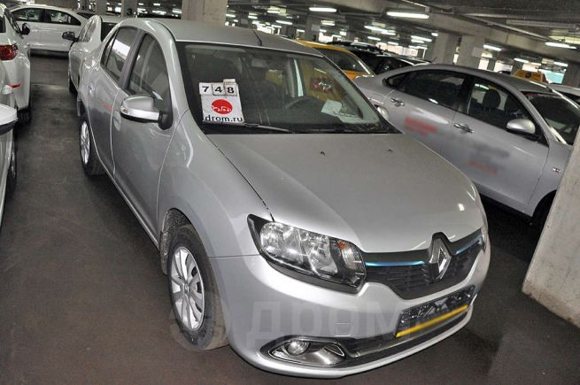 Renault Logan, 2018 год, 803 000 руб.