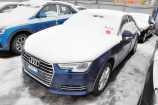 Audi A4. СИНИЙ, МЕТАЛЛИК (SCUBA BLUE) (S9S9)