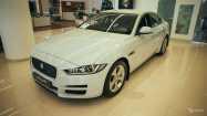 Jaguar XE. GLACIER WHITE (1AQ)